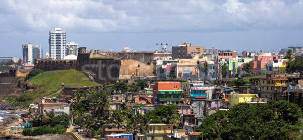Old San Juan Coast Stock photo © ArenaCreative