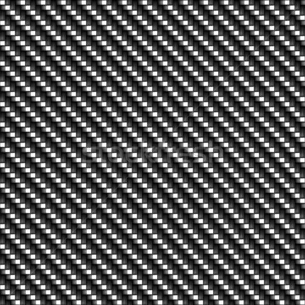 Karbon fiber gerçekçi doku fayans model modern Stok fotoğraf © ArenaCreative