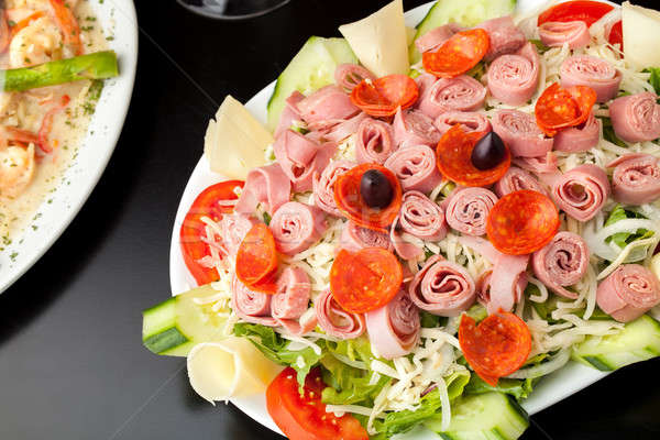 Fresh Antipasto Salad Stock photo © ArenaCreative