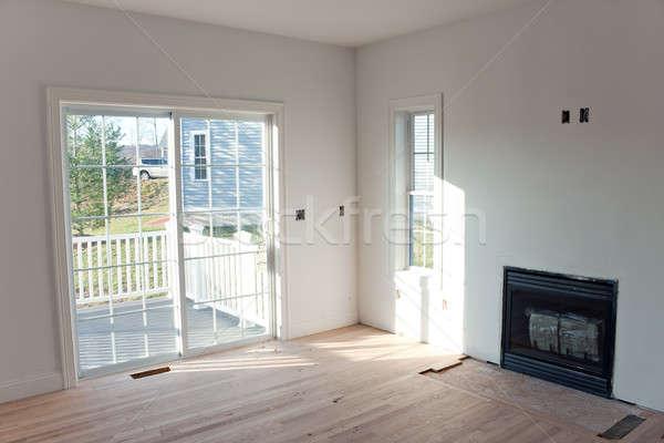 Unfinished New Home Interior Stock photo © ArenaCreative