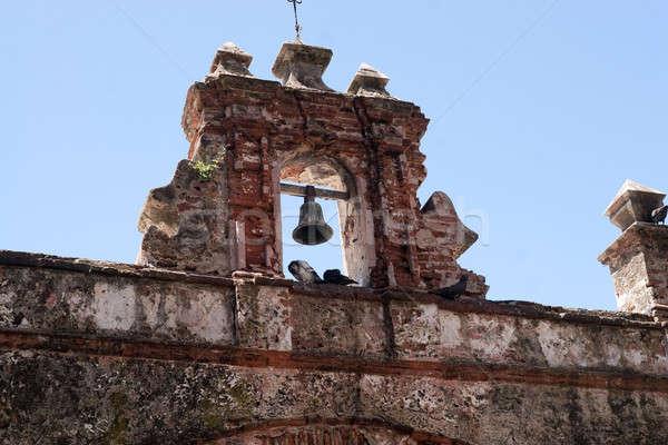 Old San Juan Pigeon Park Stock photo © ArenaCreative