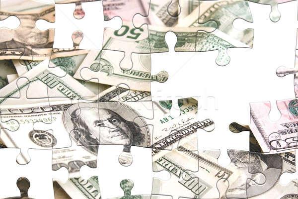 Challenging Money Puzzle Stock photo © ArenaCreative