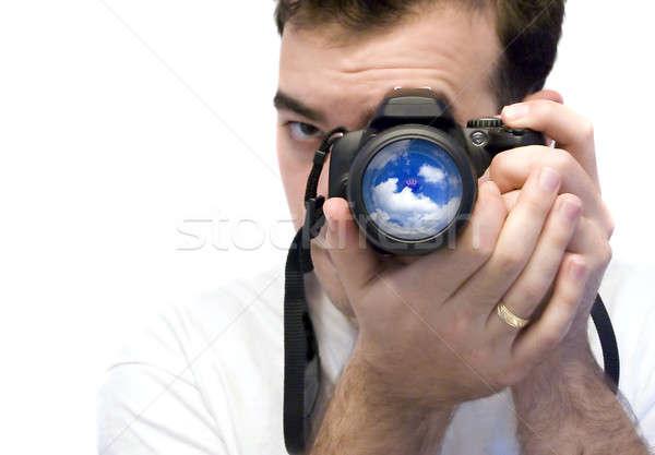 Stock photo: Photographer Shooting