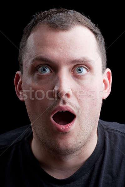 Surprised Shocked Man Stock photo © ArenaCreative