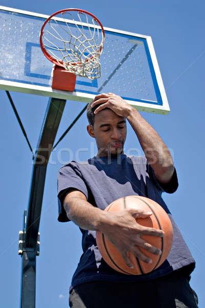 Sconvolto atleta testa Foto d'archivio © ArenaCreative