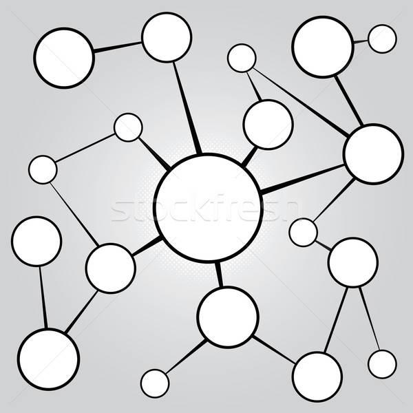 Social Media Networking Chart Stock photo © ArenaCreative