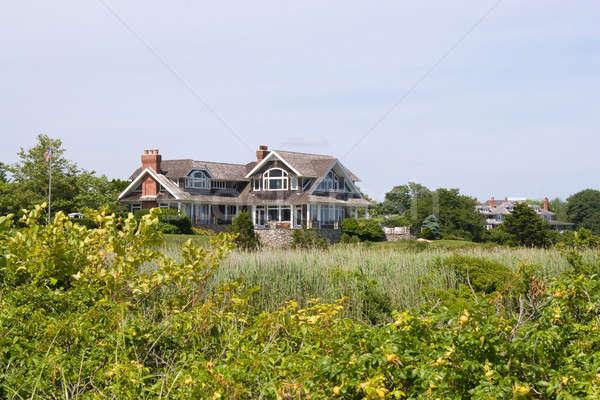 Photo stock: Luxe · maisons · pays · fenêtre