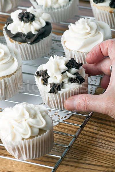 Taking a Cupcake Stock photo © ArenaCreative