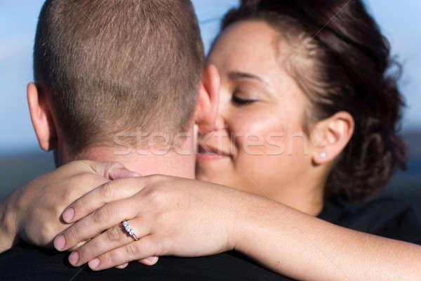 Engaged Couple Stock photo © ArenaCreative