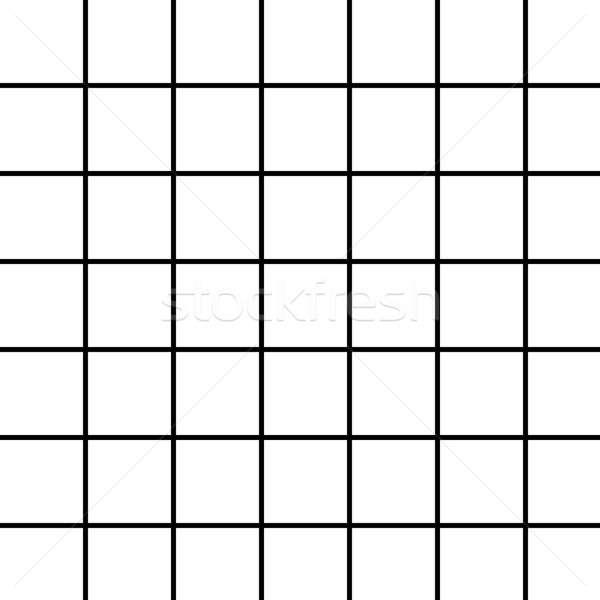 Large Black Grid on White Stock photo © ArenaCreative