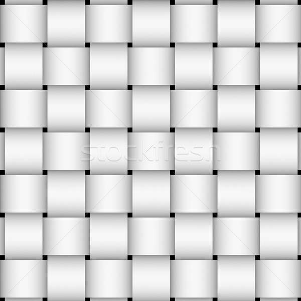 White basket weave Stock photo © ArenaCreative