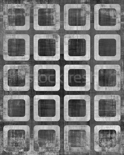 Kareler galeri sütunlar kare Stok fotoğraf © ArenaCreative
