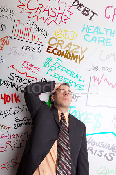 Stressed Out Business Man Stock photo © ArenaCreative