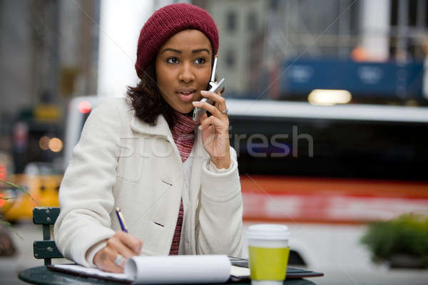Young Business Woman Stock photo © ArenaCreative
