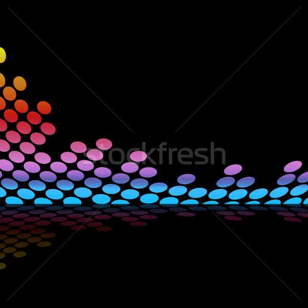 Graphic Equalizer Waveform Stock photo © ArenaCreative