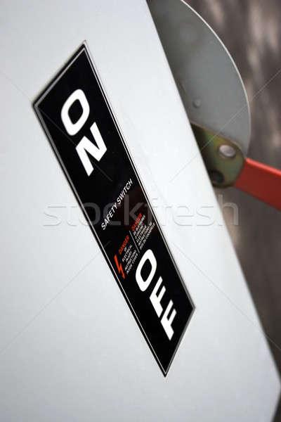 Industrielle switch commerciaux haute tension applications Photo stock © ArenaCreative