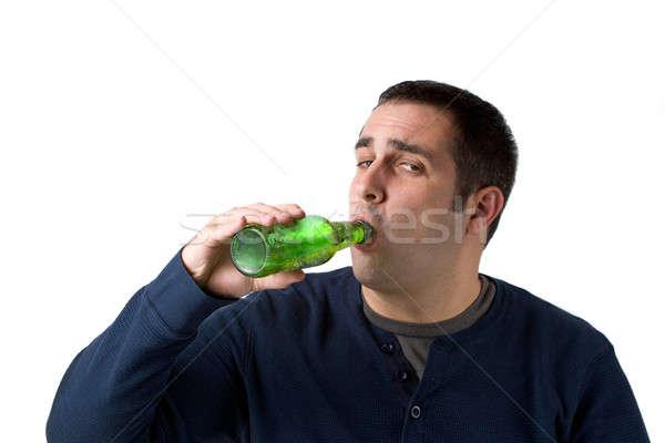 Beer Drinker Stock photo © ArenaCreative