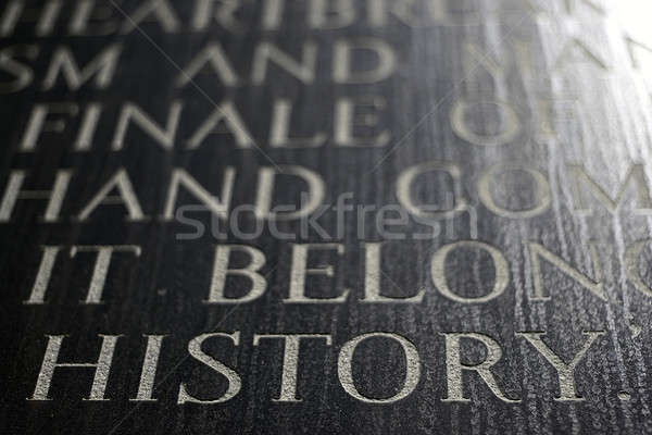 History Stock photo © ArenaCreative