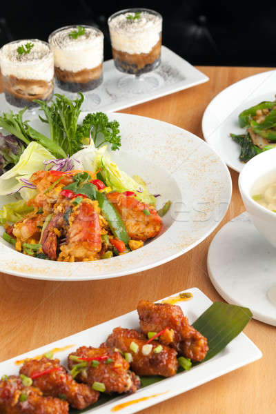 Variety of Thai Food Dishes Stock photo © arenacreative
