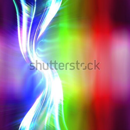 Funky Blurred Light Trails Abstract Stock photo © ArenaCreative