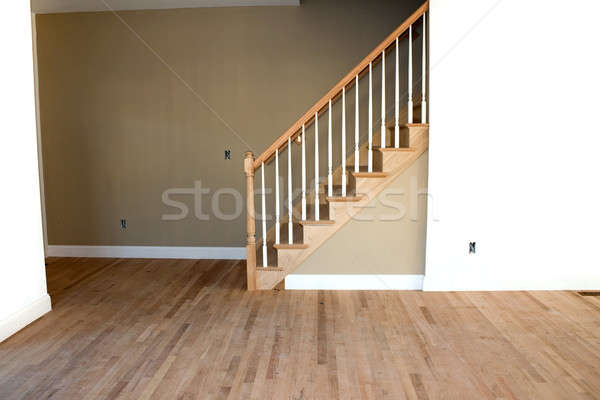 Stock photo: New Unfinished Home Interior