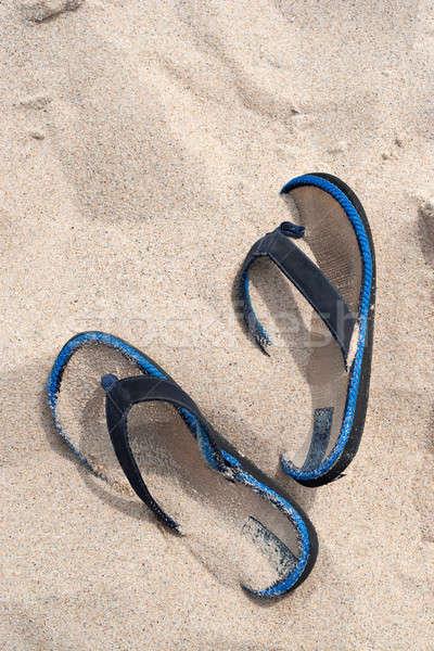 Flip Flop Beach Sandals Stock photo © ArenaCreative