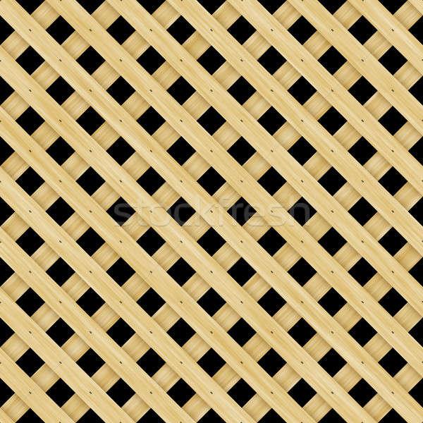Wood Lattice Stock photo © ArenaCreative