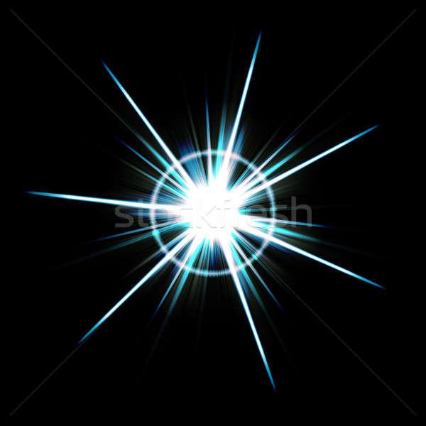 Bright Lens Flare Burst Stock photo © ArenaCreative