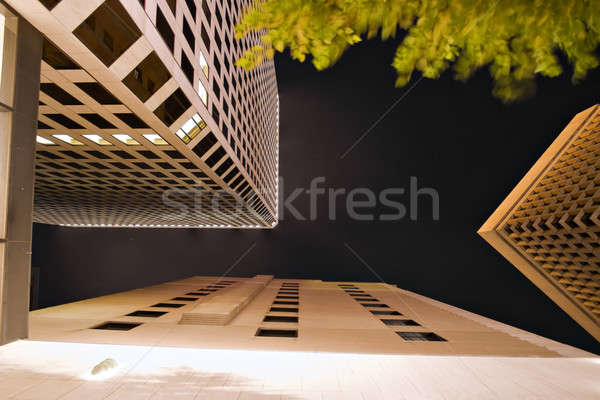 Night City Architecture Stock photo © ArenaCreative