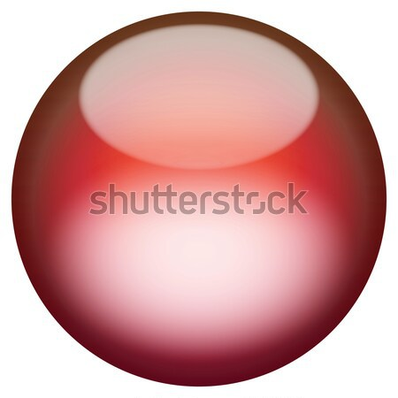 Glassy 3D Button Stock photo © ArenaCreative