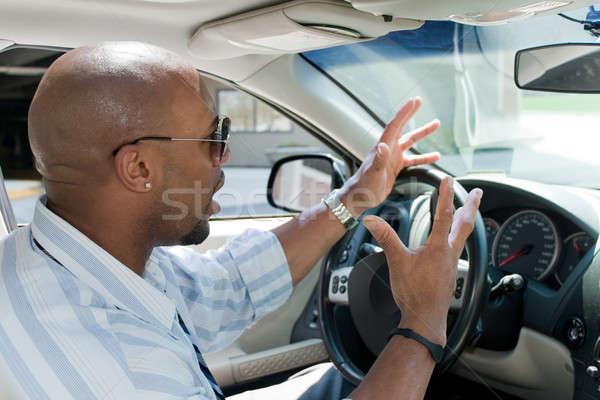 сердиться человека дороги ярость деловой человек Сток-фото © ArenaCreative