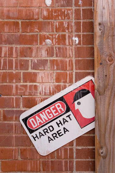 опасность здании строительство работу Сток-фото © ArenaCreative