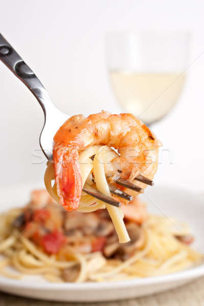 Shrimp Scampi Stock photo © ArenaCreative