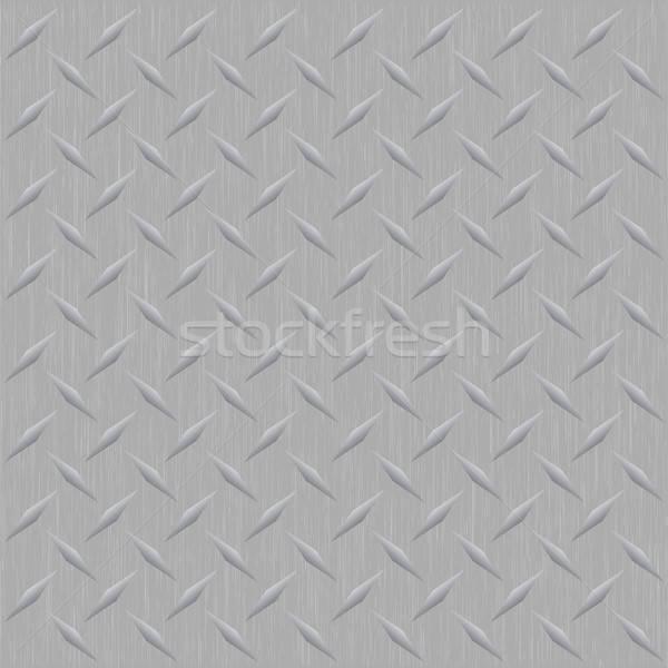 Diamond Plate Metal Stock photo © ArenaCreative