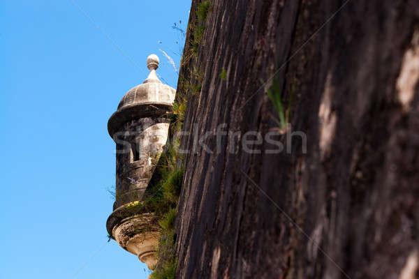 El Morro Fort Watch Tower Stock photo © ArenaCreative