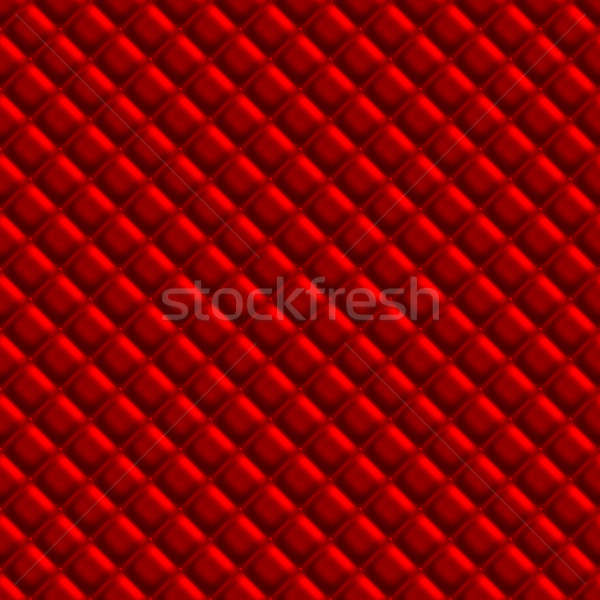 Red Padden Upholstery Pattern Stock photo © arenacreative