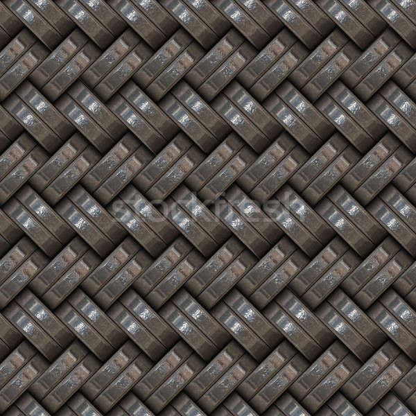 Metallic Weave Stock photo © ArenaCreative