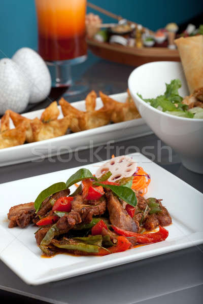 Freshly Prepared Thai Food Stock photo © ArenaCreative