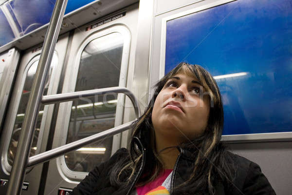 Stock photo: On the Subway