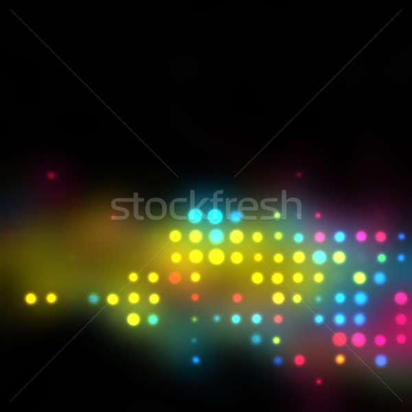 Izzó halftone textúra sorok funky modern Stock fotó © ArenaCreative