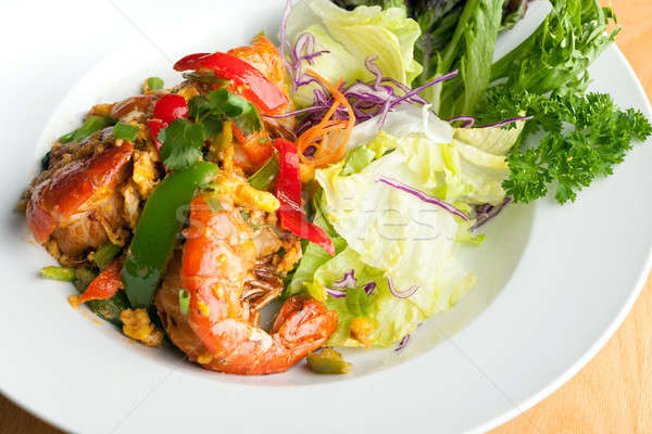 Thai Jumbo Shrimp Salad Stock photo © arenacreative
