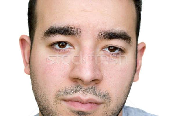 серьезный чувак молодым человеком посмотреть лице Сток-фото © ArenaCreative