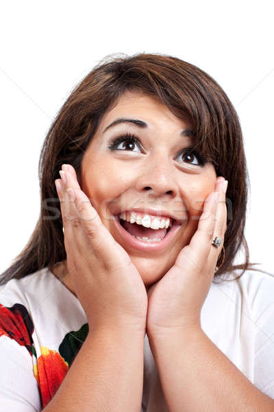 Surprised Woman Stock photo © ArenaCreative