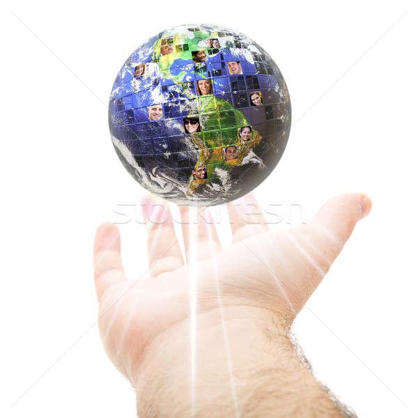Worldwide Global Communication Concept Stock photo © ArenaCreative