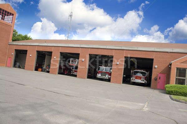 Modern Fire Station Stock photo © ArenaCreative