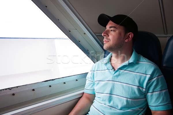 フェリー ボート 疲れ 見える ルックス ストックフォト © ArenaCreative