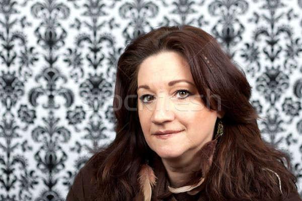 Smiling Italian Woman Stock photo © ArenaCreative