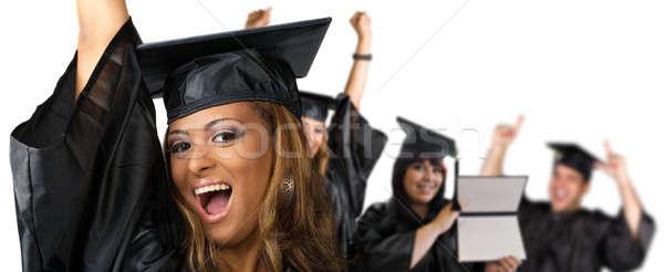 Happy Graduation Day Stock photo © ArenaCreative