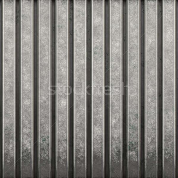 Corrugated Metal Stock photo © ArenaCreative