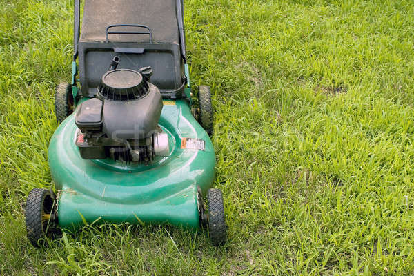 Push Style Lawn Mower Stock photo © ArenaCreative